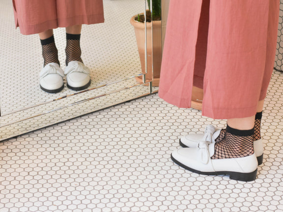 Footwear Styles to Wear this Summer with Tights and Sockettes