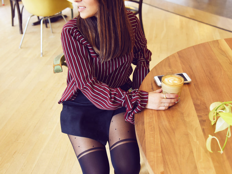 5 Fall-Ready Outfits to Recreate with Over-the-Knee Tights