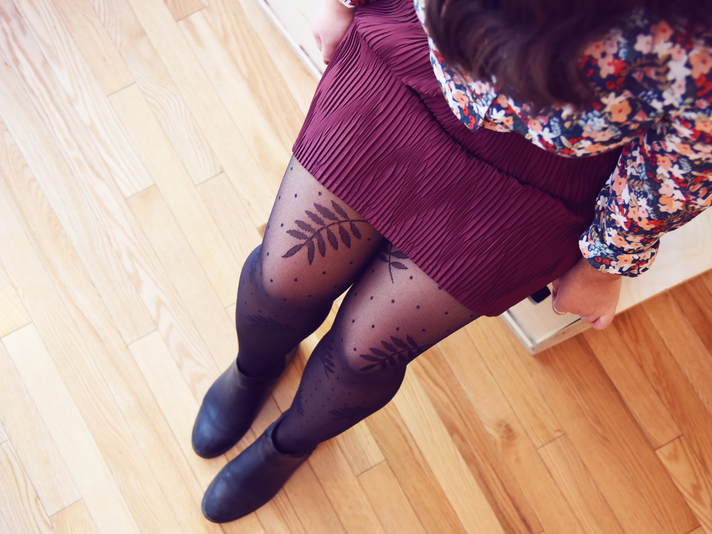 How to Put on Tights the Right Way