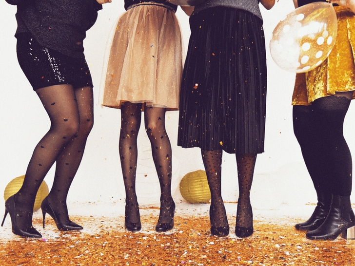 Style resolutions with tights.
