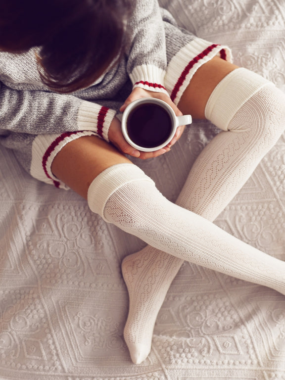 Cosy high socks