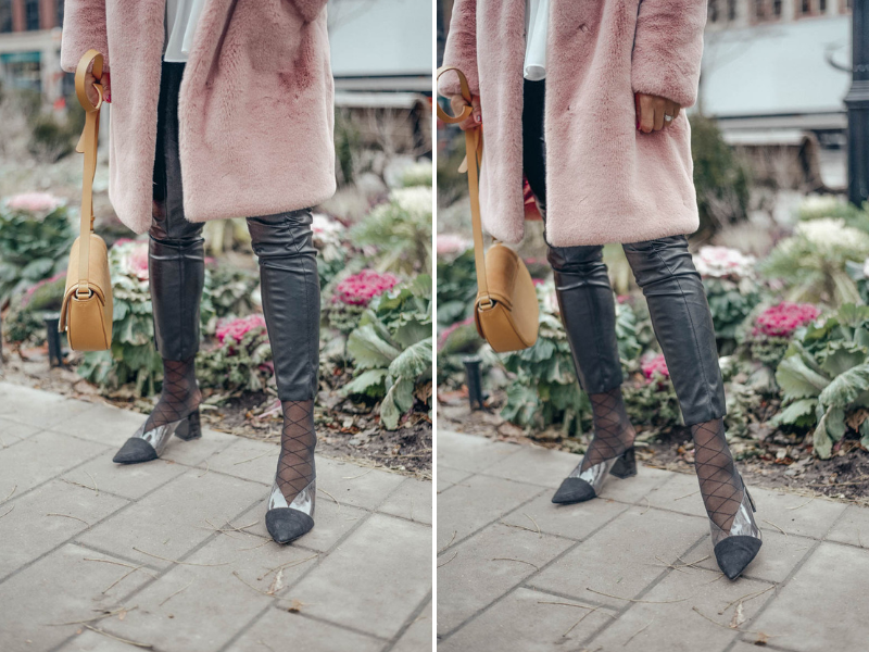 How to Wear Tights With Pants \u2013 From Rachel