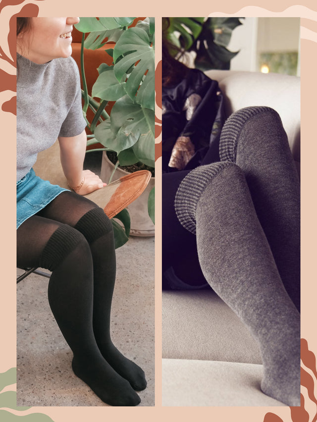 Warm OTK Tights (2 Pack)