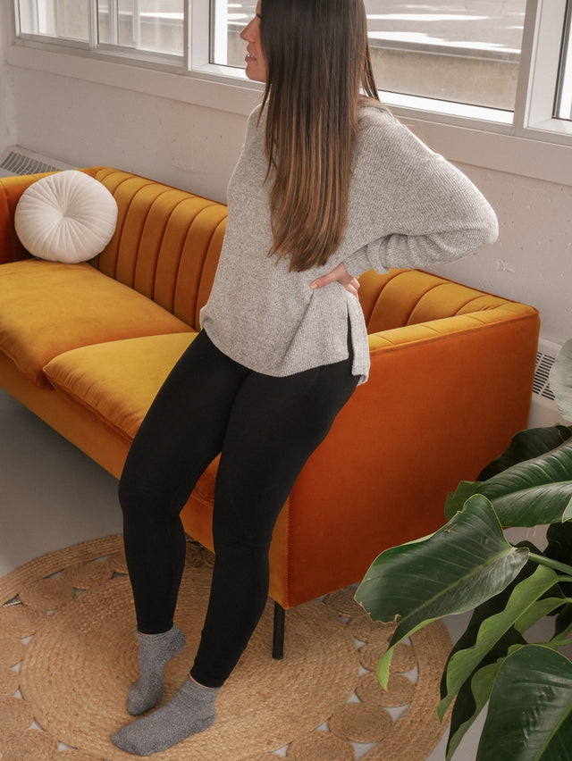 Black Seamless Eco Leggings