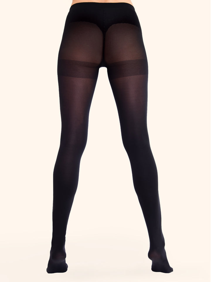 Black Opaque Tights 50D