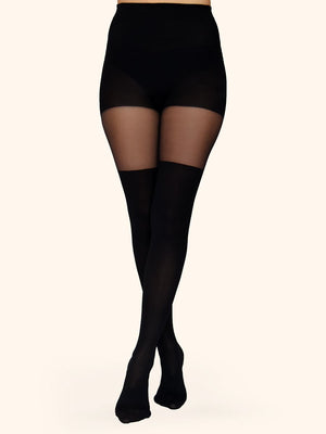 over-the-knee tights - collant cuissardes