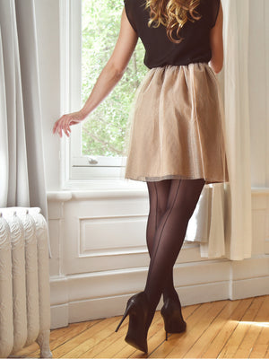 Backseam Tights
