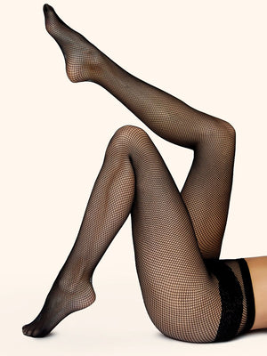 fishnet tights - collant résille