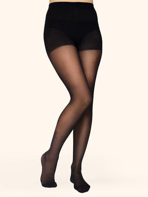 Black Semi-Sheer Tights