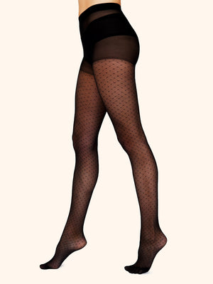 Tights with Fishnet Style