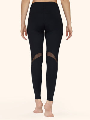 Leggings with Mesh Inserts - Leggings avec ligne de résille