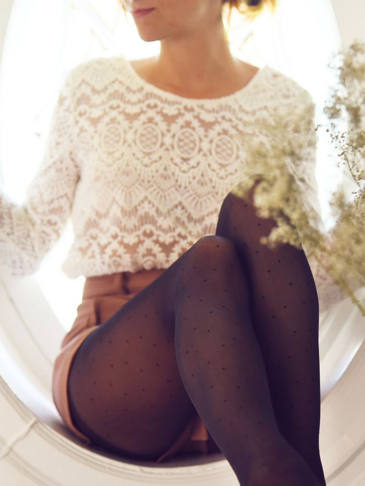 Micro Dot Tights