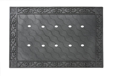Recycled Rubber Door Mat Tray/Holder