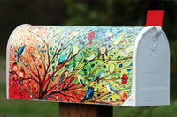 Tree Birds Mailbox Cover Feature Image