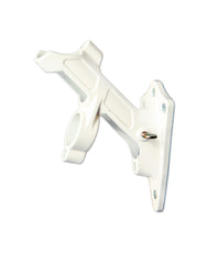 Two Position White Metal Pole Bracket (Case of 6)