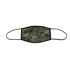 Camo Large Double Layer Cloth Face Mask (Case of 6)