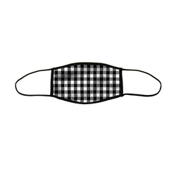 Gingham Large Double Layer Cloth Face Mask (Case of 6)