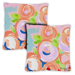 Blooms 18 x 18 Inch Pillow Case (2-Pack)