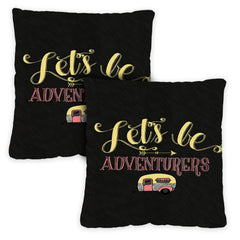 Adventurers 18 x 18 Inch Indoor Pillow Case (2-Pack)