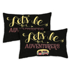 Adventurers 12 x 19 Inch Indoor Pillow Case (2-Pack)