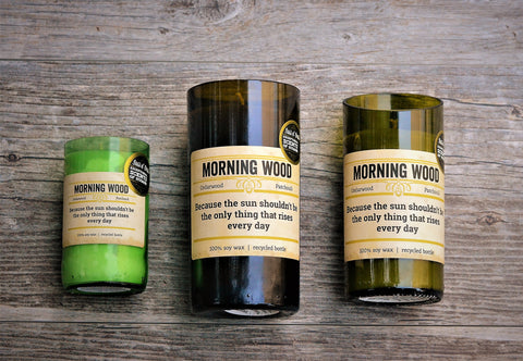 Morning Wood Candle