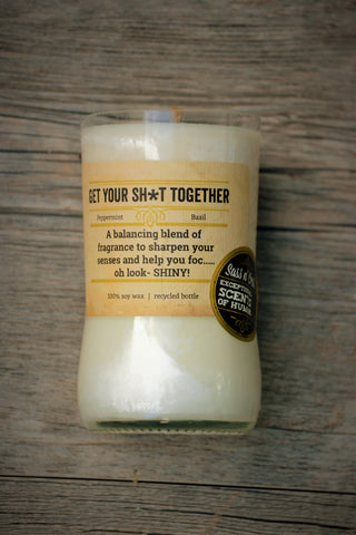 Get Your S#*t Together Candle