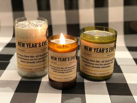 New Years Eve Candle