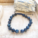 Blue Kynite Beaded Bracelet