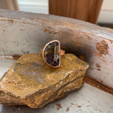 Pietersite Ring in Rose Gold Small