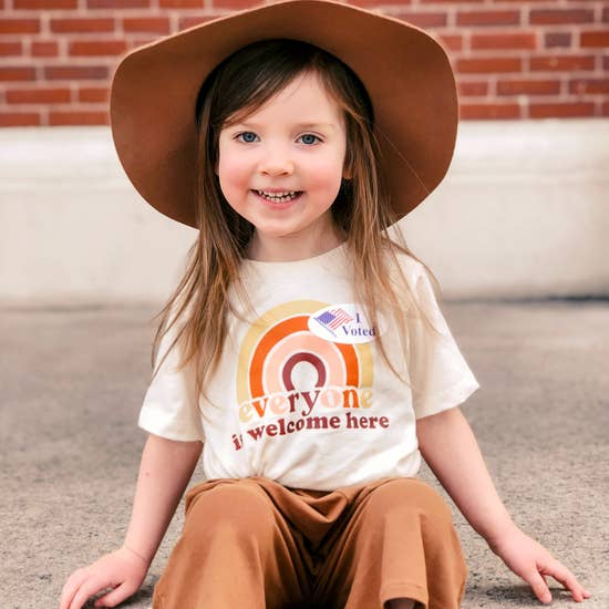 Everyone Is Welcome Children's Organic T Shirt