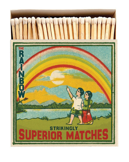 Luxury Boxed Matches - The Rainbow