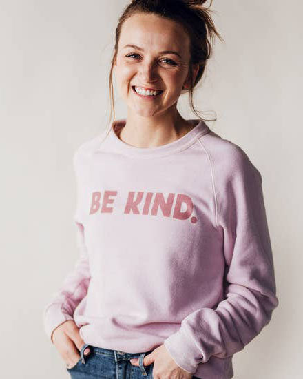 Be Kind Fleece Sweatshirt