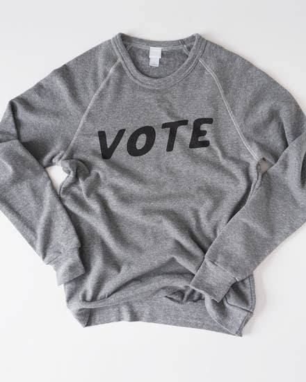 Vote Organic Fleece Sweatshirt