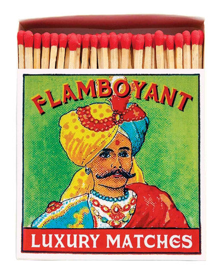 Luxury Boxed Matches - The Flamboyant