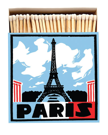 Luxury Boxed Matches - Paris