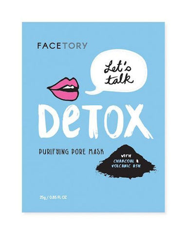 Let's Talk Detox Purifying Beauty Face Mask