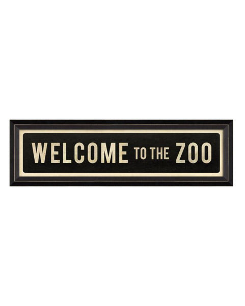 Welcome to the Zoo Street Sign