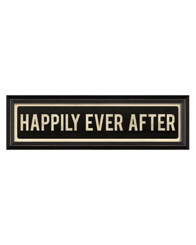 Happily Ever After Street Sign