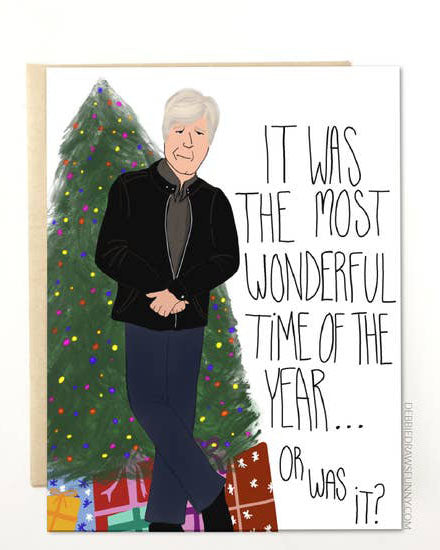 Dateline Christmas Greeting Card