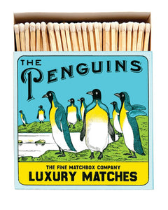 Luxury Boxed Matches - The Penguins