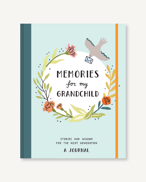 Memories For My Grandchild Keepsake Journal Book