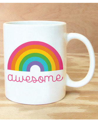 Awesome Rainbow Mug