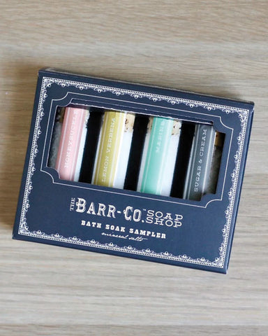 Barr Co Bath Soak Sampler