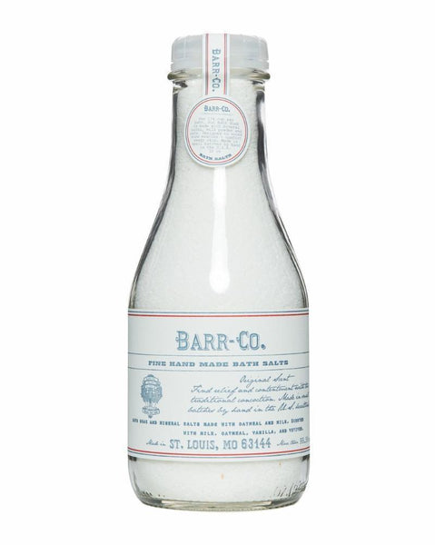 Barr & Co. Bath Salts Bottle Original Scent