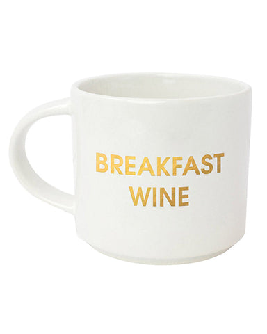 Breakfast Wine Jumbo Stackable Mug