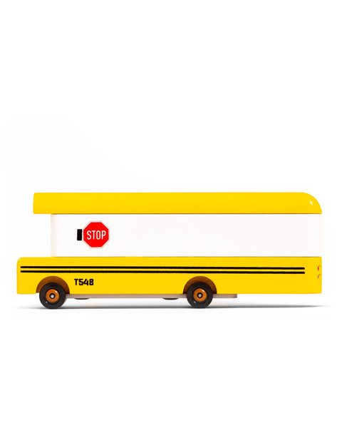 Candy Lab School Bus