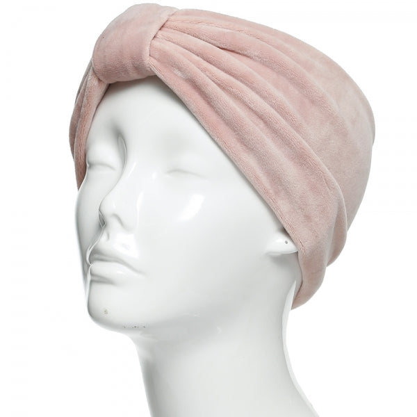 Velvet Wide Headband (Assorted Colors)