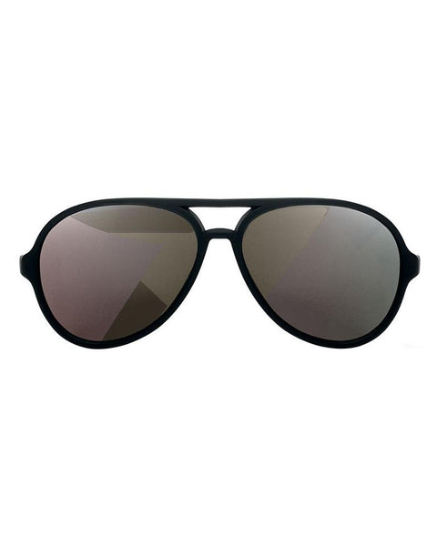 Hipsterkid Classic Black Polarized Aviator Sunglasses