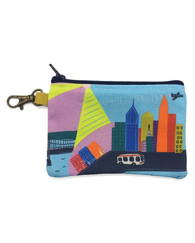 Ana Thorne Colorful Philly Zip Pouch