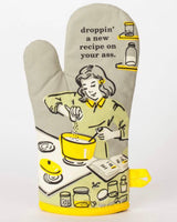 Droppin A New Recipe Oven Mitt
